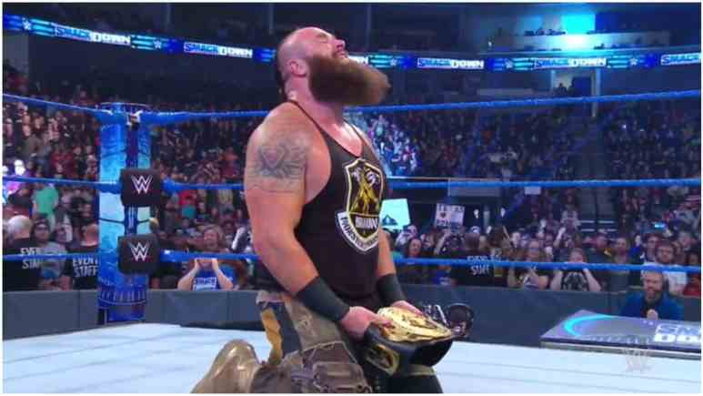 Braun Strowman wins his first WWE singles title on Friday Night SmackDown