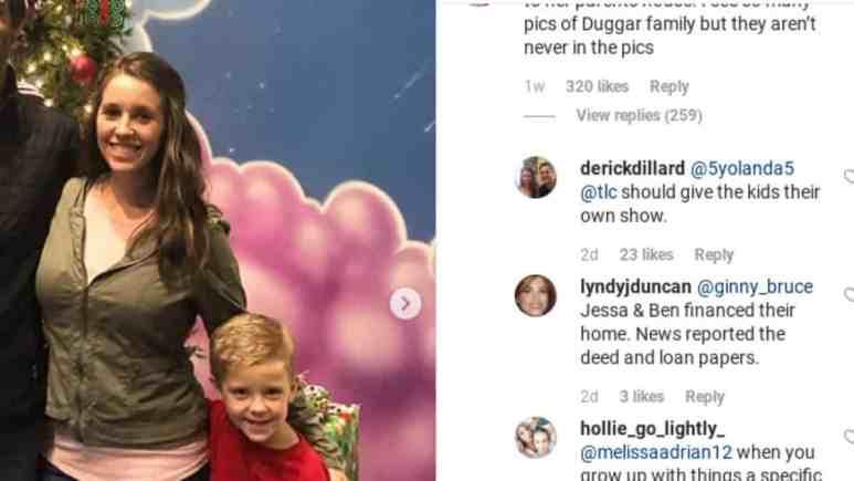 Derick Dillard comments on Instagram.