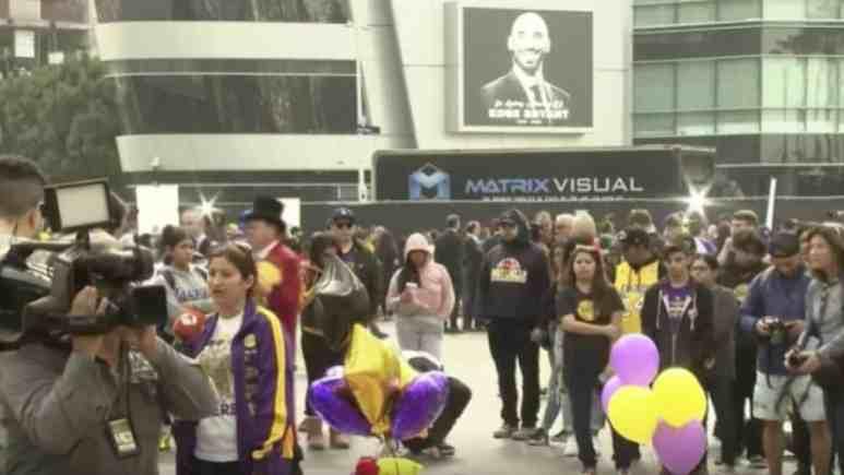 Fans Staples Center