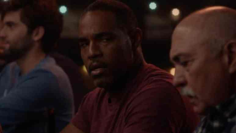 Ben Warren (played by Jason George) and Pruitt Herrera (Miguel Sandoval) on Grey's Anatomy