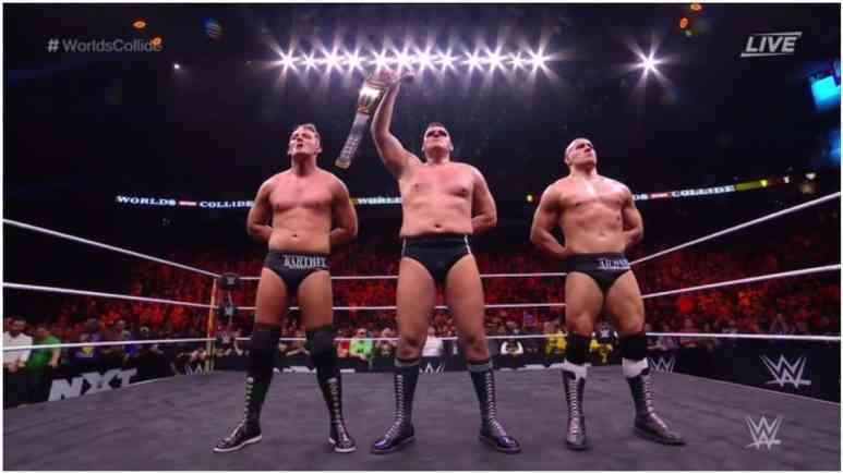 WWE NXT World's Collide recap, results, grades: United States vs. United Kingdom
