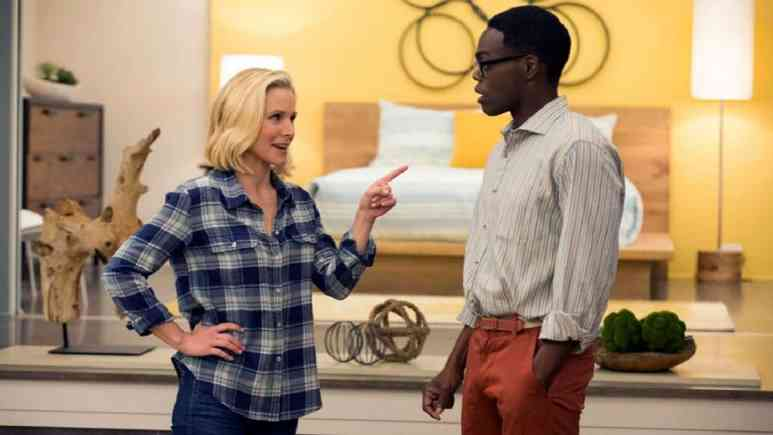 Kristen Bell and William Jackson Harper on The Good Place