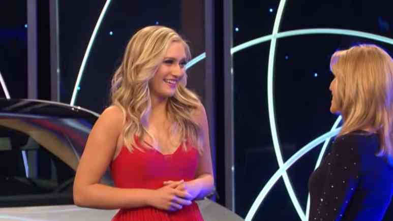 Maggie Sajak on Wheel of Fortune