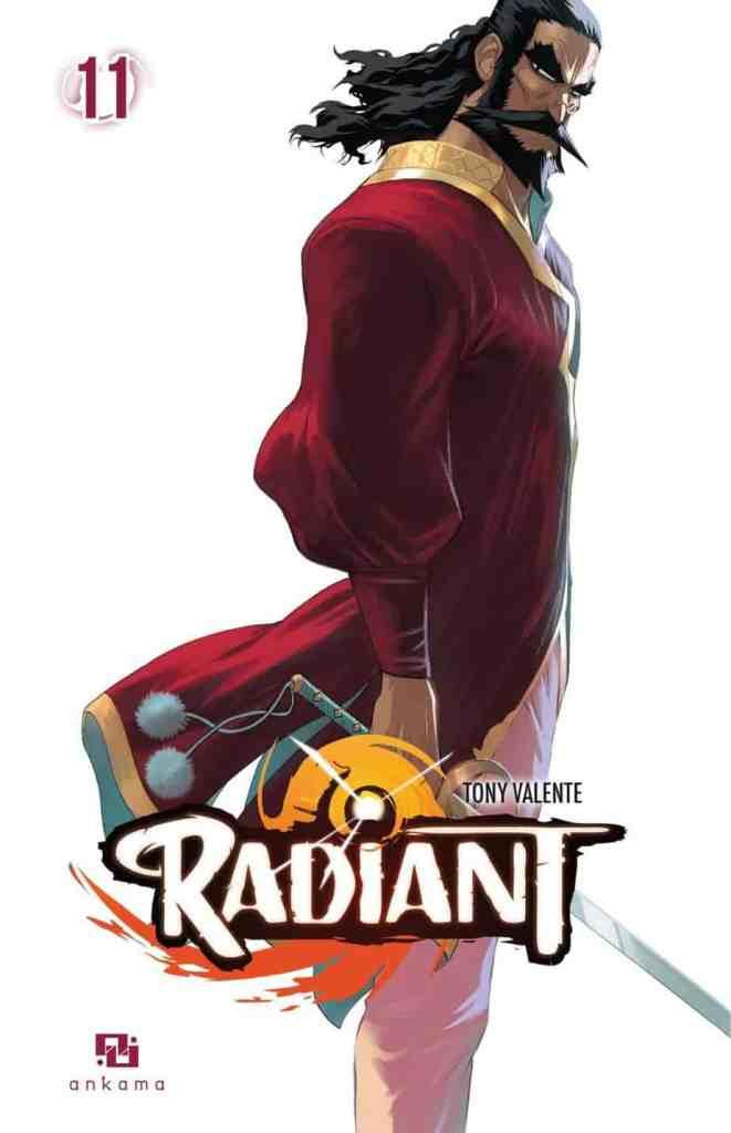 Radiant Sargon Inquisitor General Manga Volume 11 Cover Art