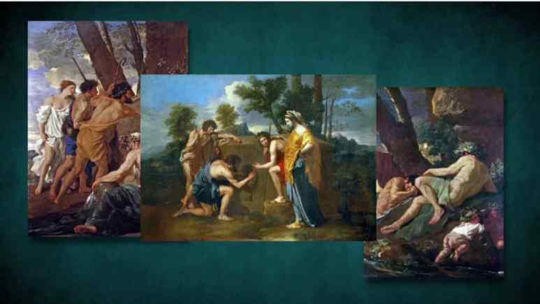 3 of Pouisson's paintings