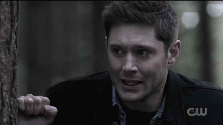 Dean (Jensen Ackles) gets emotional when he can't find Cass. Pic credit: The CW