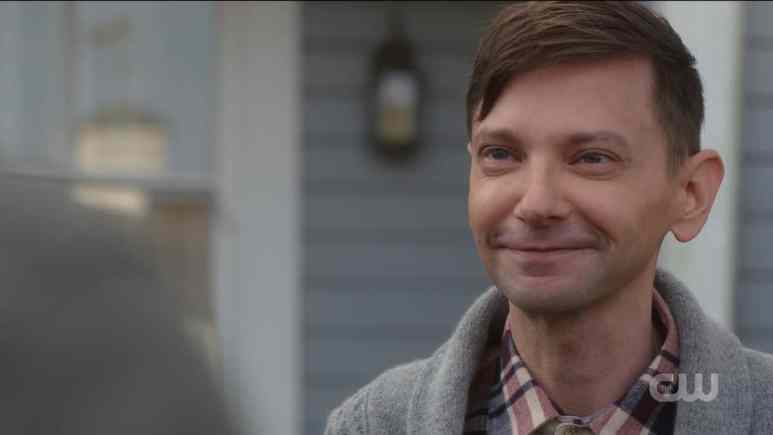 Garth (DJ Qualls) says goodbye to the Winchesters. Pic credit: The CW