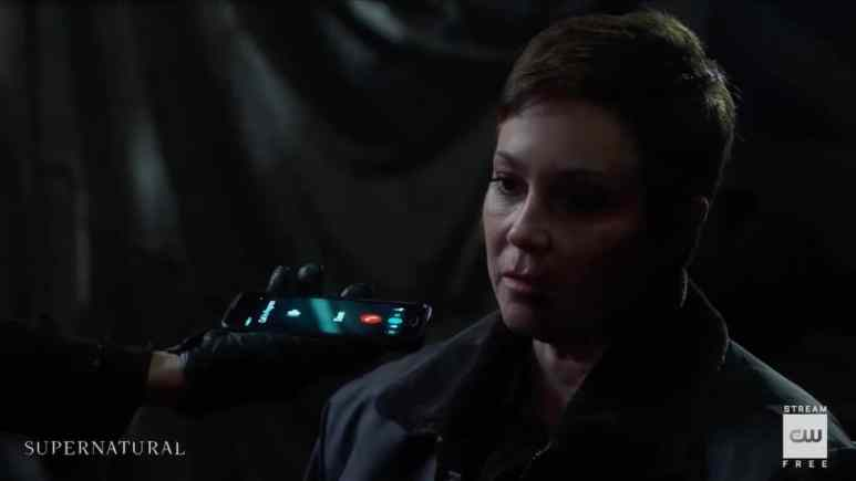 Kim Rhodes guest stars as Jody Mills on Supernatural. Pic credit: The CW
