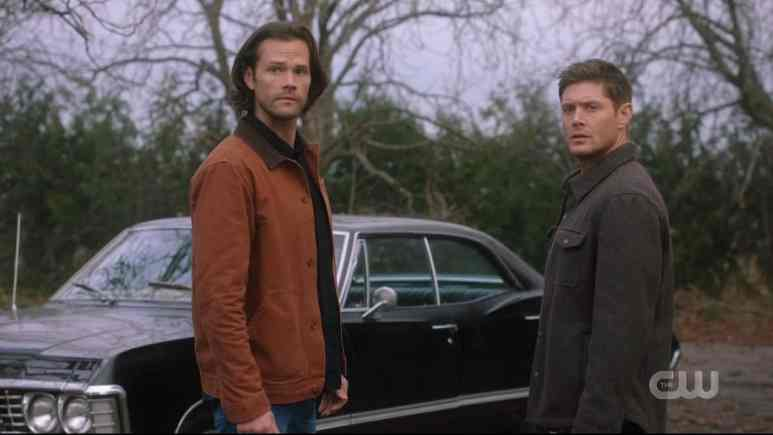 Sam and Dean travel to Alaska to find their luck in Supernatural. Pic credit: The CW