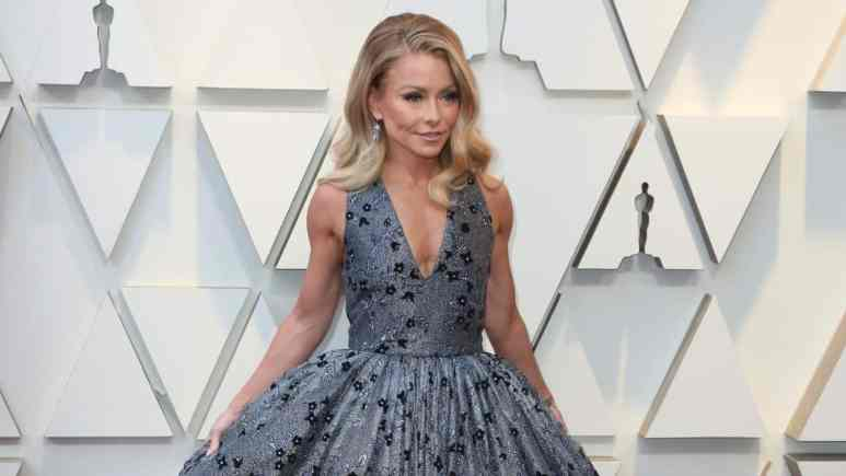 Kelly Ripa on the red carpet