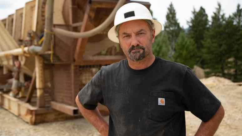 Turin heads to the abandoned mines of Montana in season 3 of Gold Rush: Dave Turin's Lost Mines Pic credit: Discovery.