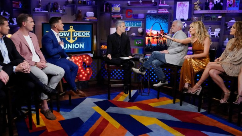 Andy Cohen was a terrible Below Deck reunion host.