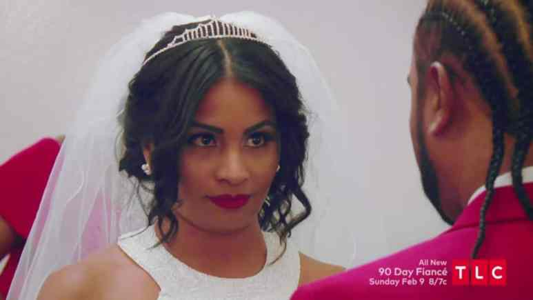 Anny and Robert get married on 90 Day Fiance
