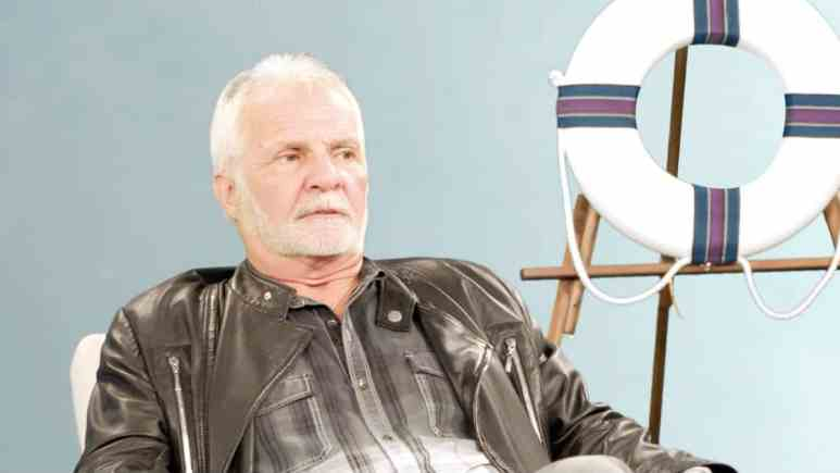 Captain Lee walks out of the Below Deck reunion special.