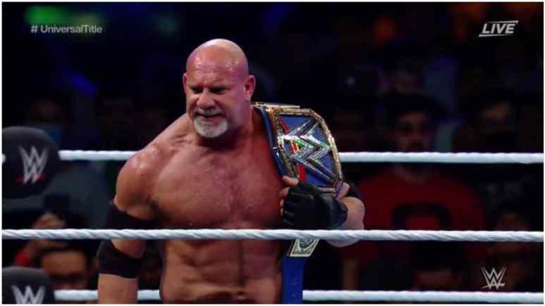 WWE Universal Championship changes hands at Super Showdown in Saudi Arabia