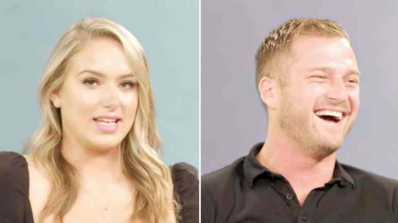 Below deck's Courtney is at odds with Brian for his joke.