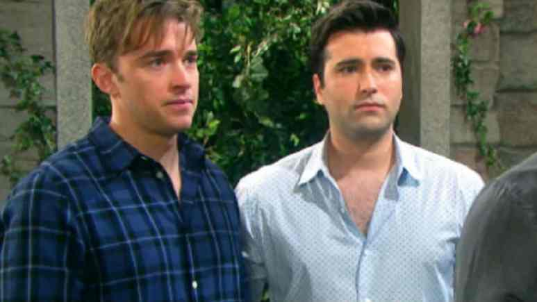 Chandler Massey and Freddie Smith dish on Days of our Lives exit.