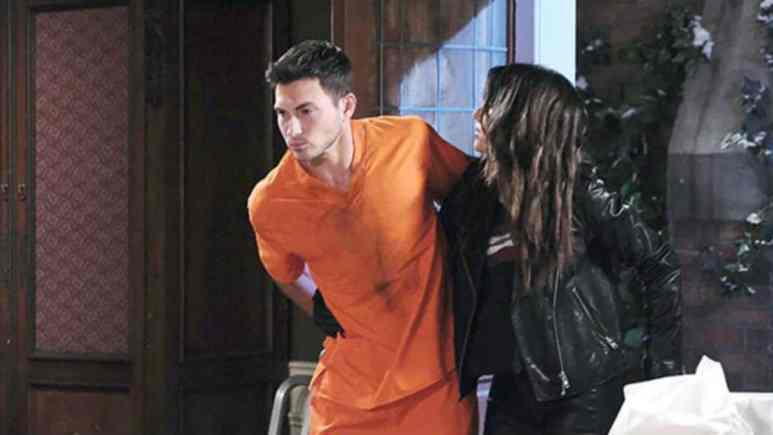 Ciara is determined to save Ben on Days of our Lives.
