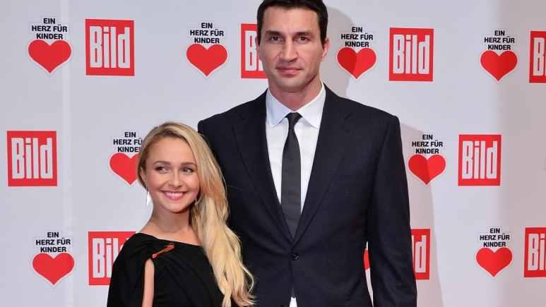 Hayden Panettiere and ex-fiance Wladimir Klitschko
