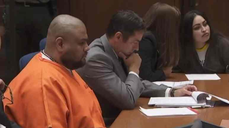 Isauro Aguirre in court