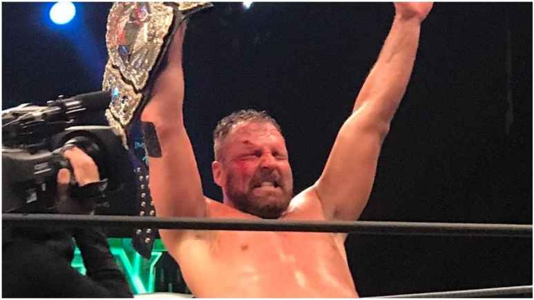 Jon Moxley wins AEW World Championship from Chris Jericho at AEW Revolution