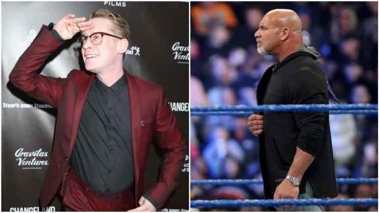 Macaulay Culkin said he is skipping attending WWE WrestleMania 36 and Goldberg responds