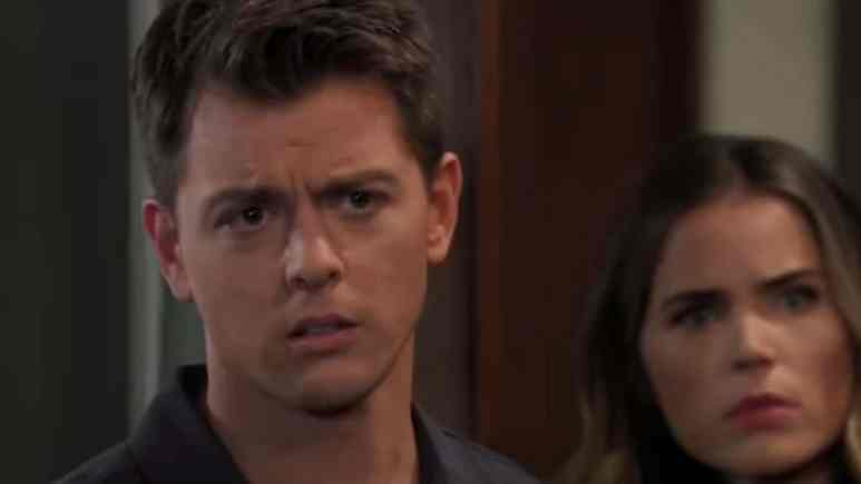 Chad Duell and Sofia Mattsson as Michael and Sasha on General Hospital.