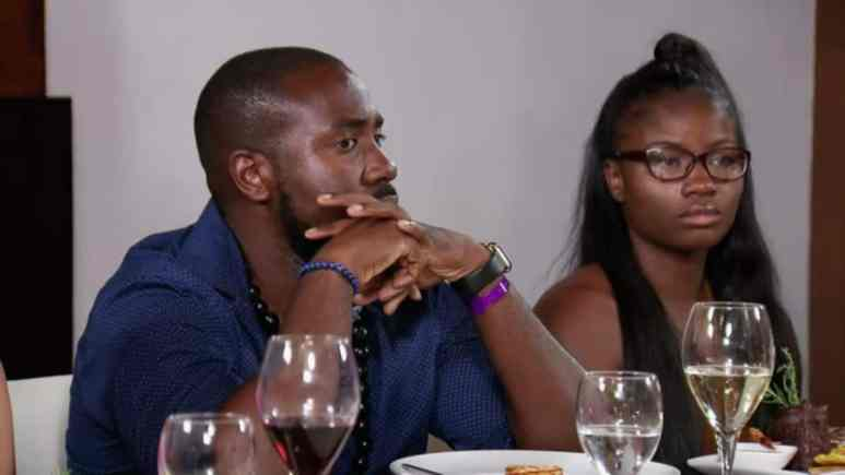 Michael and Meka on Married at First Sight