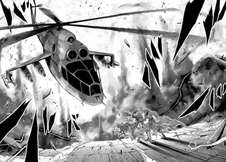 Plunderer Manga Chapter 7 Demon Of The Abyss Helicopter