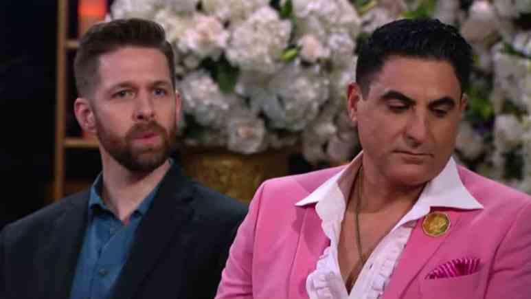 Reza Farahan and Adam Neely on Shahs of Sunset.