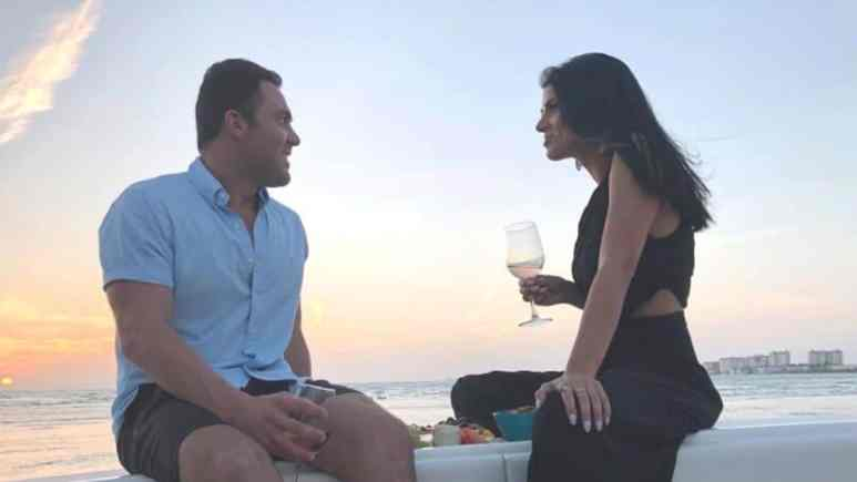 Siesta Key's Alex Kompo and Alyssa Salerno on a date