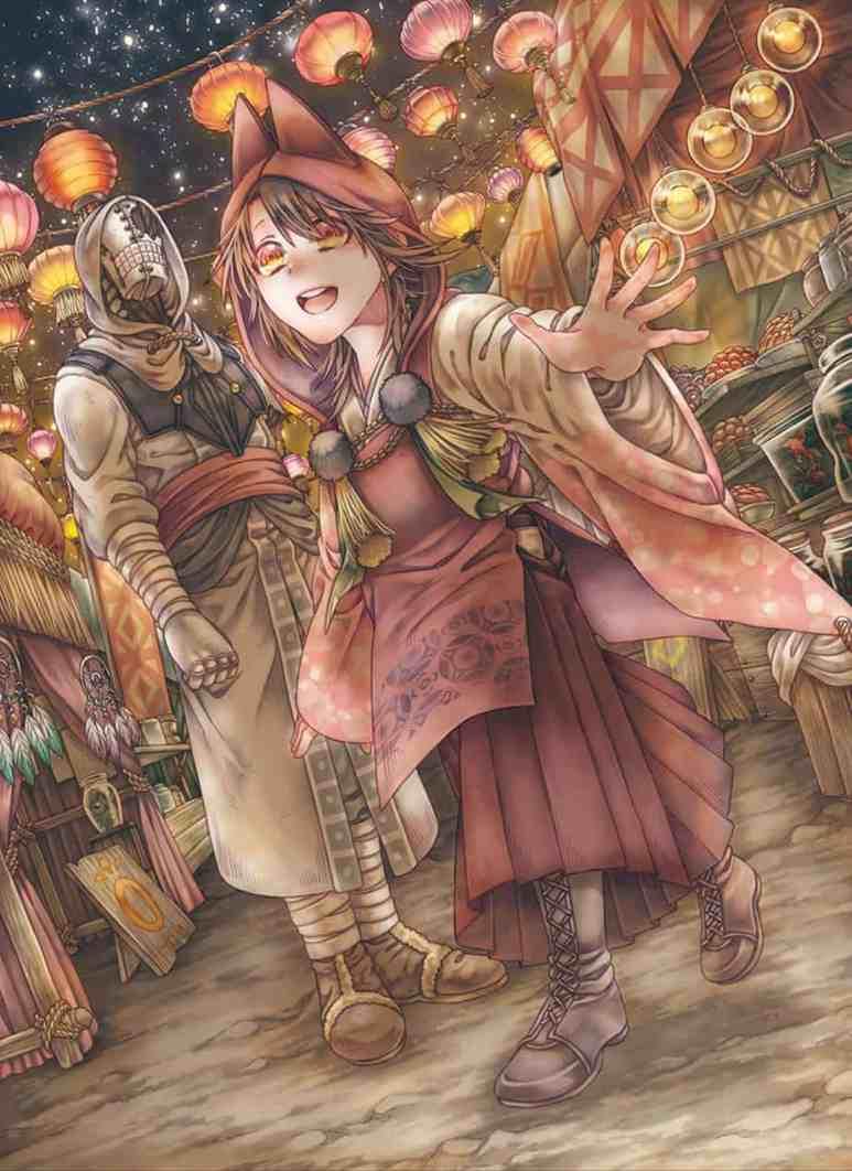 Somali and the Forest Spirit Manga Volume 6 Cover Art