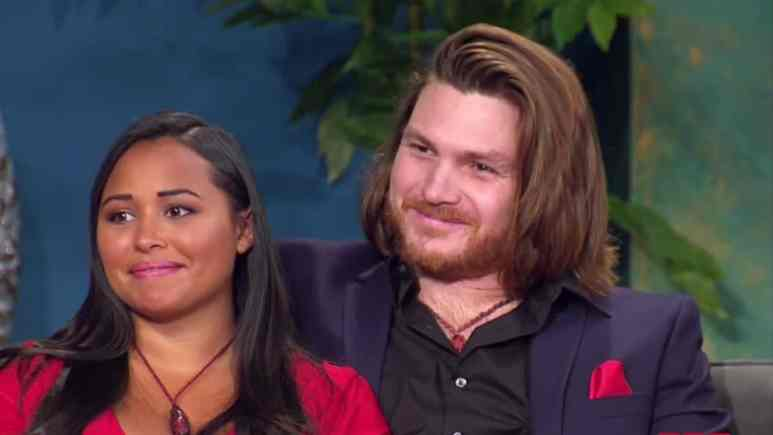 Tania and Syngin at the 90 Day Fiance Tell All