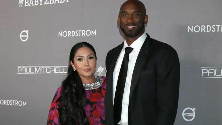 Vanessa Bryant and Kobe