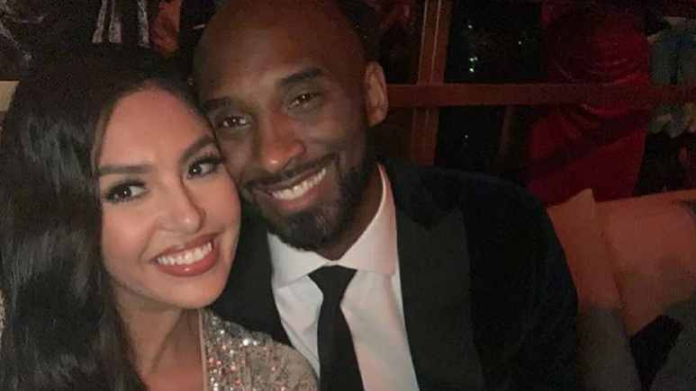 Vanessa Bryant and her late husband Kobe