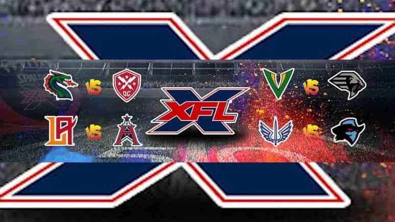 XFL football is back