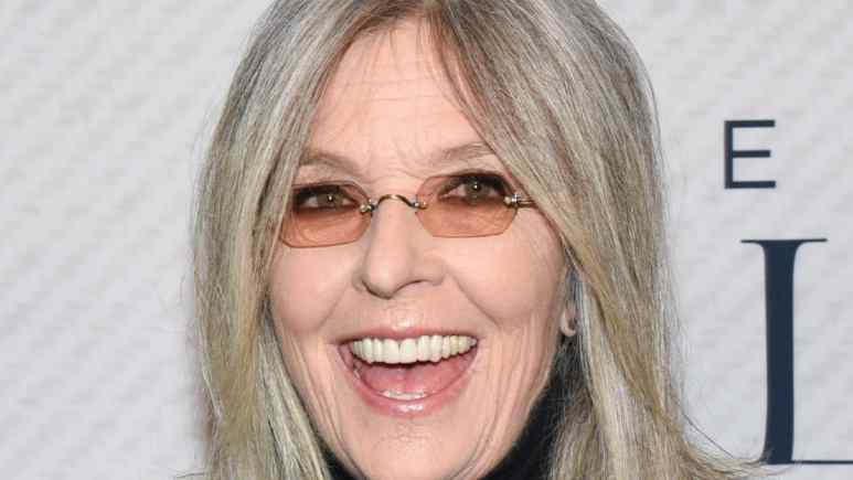 Diane Keaton on the red carpet