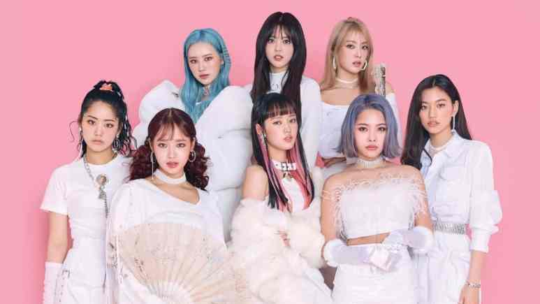 Weki Meki promotional picture for Dazzle Dazzle