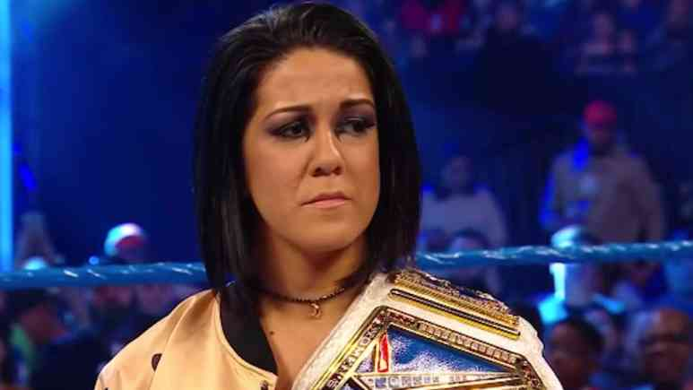 bayley to defend championship at super showdown