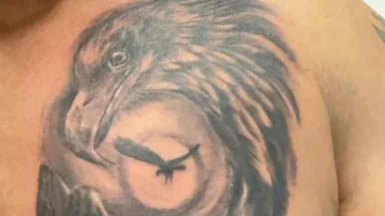Joe's new tattoo