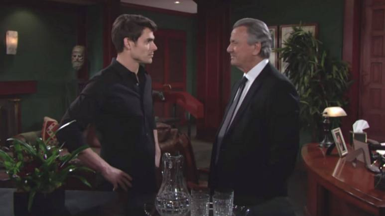 The Newman family is feuding again on The Young and The Restless.