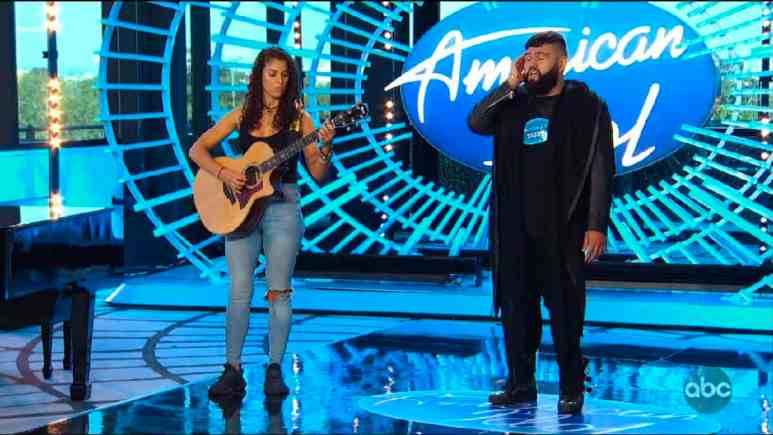 American Idol contestant Jimmy auditions
