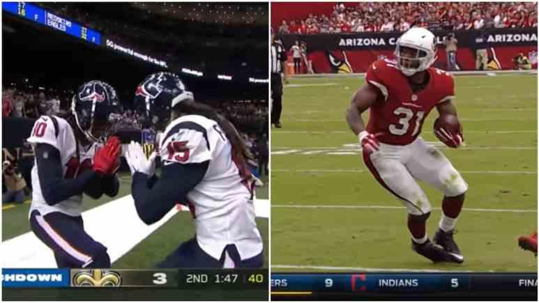 NFL trade shocker as Houston Texans trade DeAndre Hopkins for David Johnson