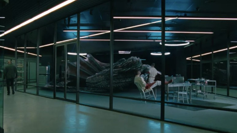 A dragon features in latest episode of 'Westworld'