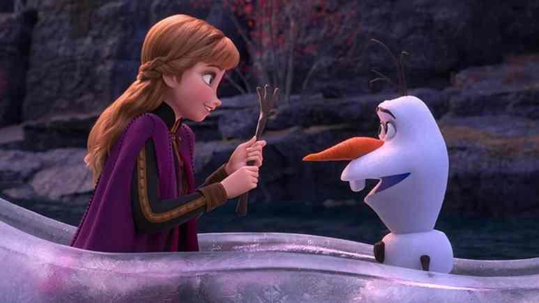 Disney animated movie Frozen 2