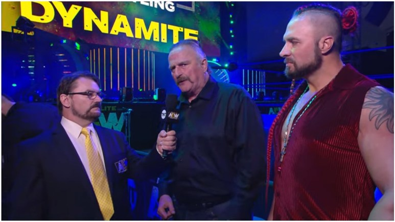 Jake 'The Snake' Roberts reveals who wanted him to come to AEW