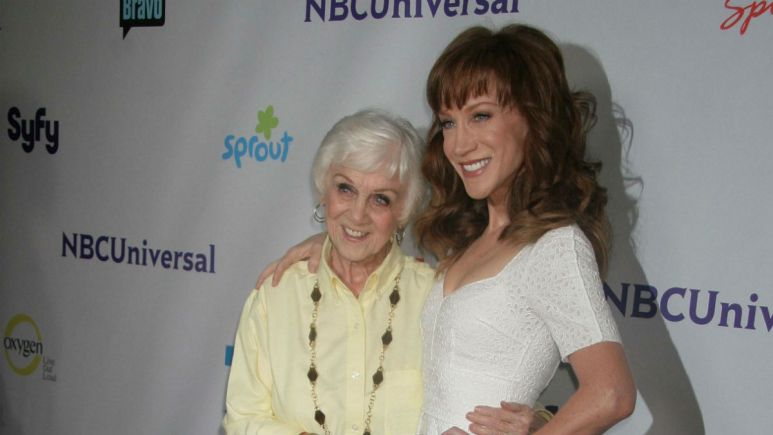 MAggie Griffin, mother of comedian Kathy Griffin has died.