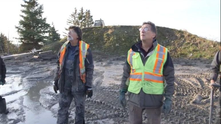 Marty and Rick Lagina on Oak Island