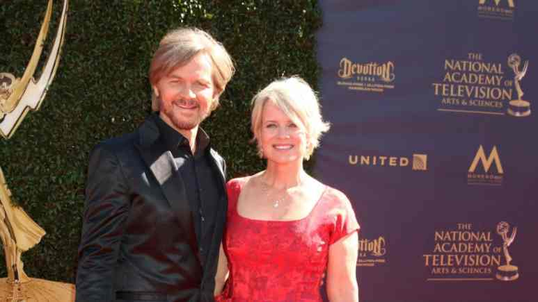 Days of our Lvies Stephen Nichols and Mary Beth Evans update fans on production.