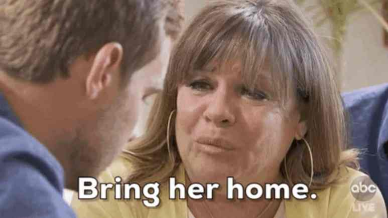 Peter's mom Barbara begs him to bring Hannah Ann home